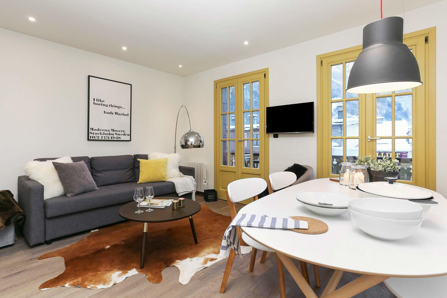 APARTMENT SUISSE – THE LIBRARY