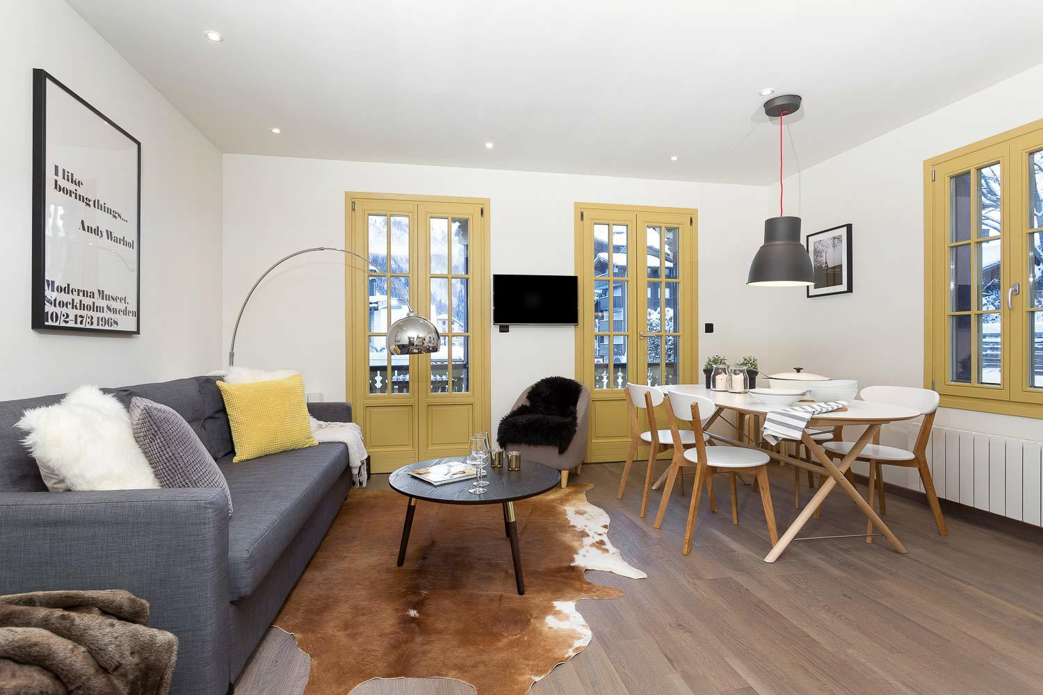 APARTMENT SUISSE  - CENTRAL CHAMONIX